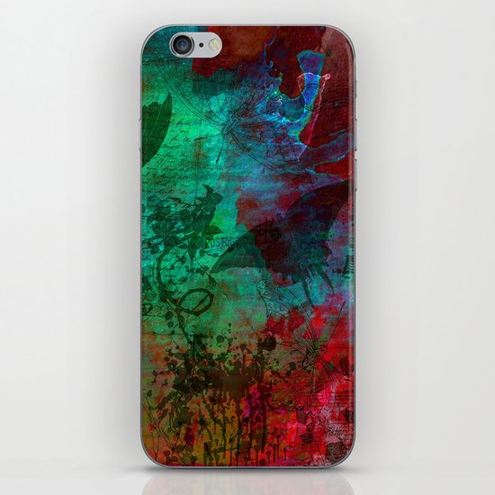 All  Those Butterflies iPhone & iPod Skin