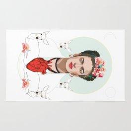 Frida Kahlo (Light) Rug
