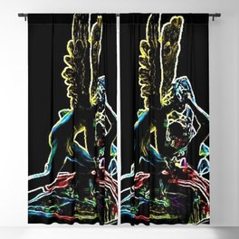 Psyche Revived by Cupid's Kiss by Jéanpaul Ferro Blackout Curtain
