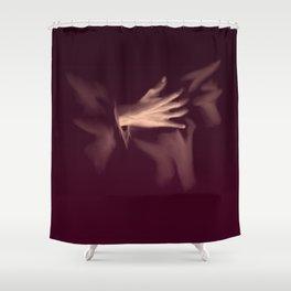 Single-Handed Love Shower Curtain