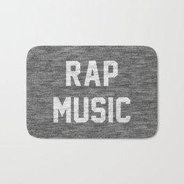 Rap Music Bath Mat