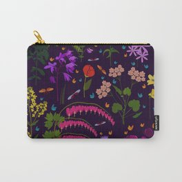 Flowers and insects Carry-All Pouch