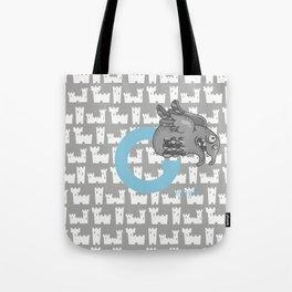 g for gargoyle Tote Bag