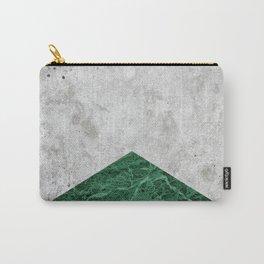 Concrete Arrow Green Granite #412 Carry-All Pouch