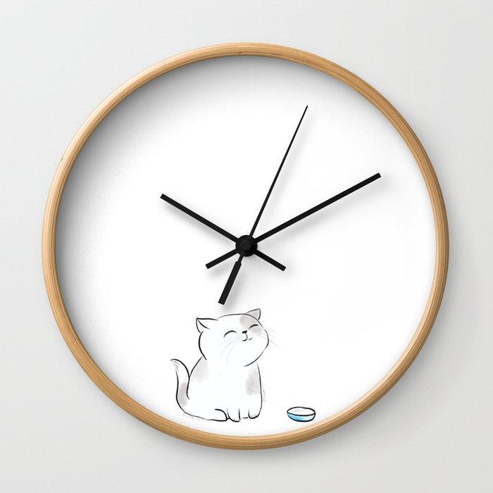 Feed me, Human. Wall Clock