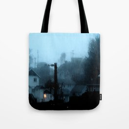 Strange Night: Ghost Light Tote Bag