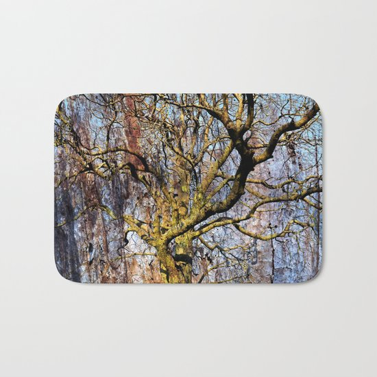 Magic Dream of a Tree Bath Mat