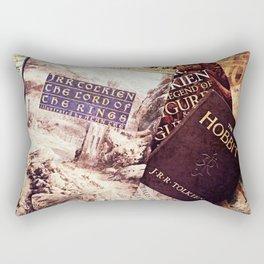 Tolkien Books Rectangular Pillow