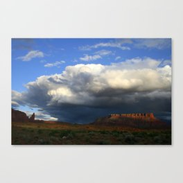 Storm & Sandstone Canvas Print