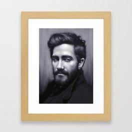Jake Gyllenhaal Framed Art Print
