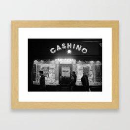 cashino Framed Art Print