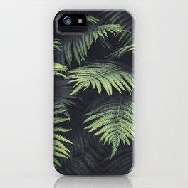 Beautiful Ferns iPhone Case