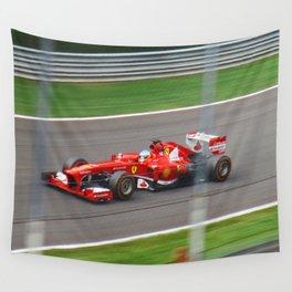 Fernando Alonso - 2013 Gran Premio d'Italia Wall Tapestry