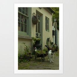 Think French  Art Print