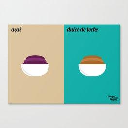 Açaí x Dulce de Leche Canvas Print