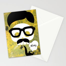 phat pipes Stationery Cards