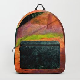 Ray of Sun - Don't Give Up, Don't Give Up, Don't Give Up by Félix Vallotton Backpack