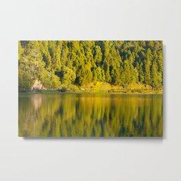 Furnas lake Metal Print