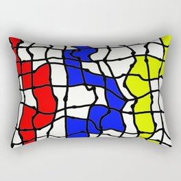 Take The Colourful Path Rectangular Pillow