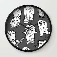 everyday heroes | version Wall Clock