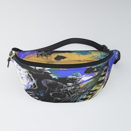 Jazzy Emotions No.1H by Kathy Morton Stanion Fanny Pack