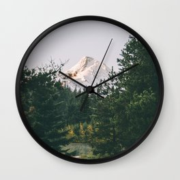 Mount Hood XIV Wall Clock