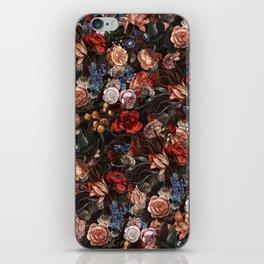 Vintage Summer Floral iPhone Skin