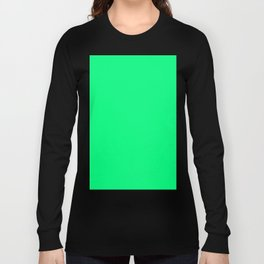 color spring green Long Sleeve T-shirt