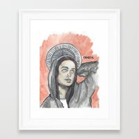 oitnb Framed Art Prints featuring Pennsatucky OITNB by Ashley Rowe