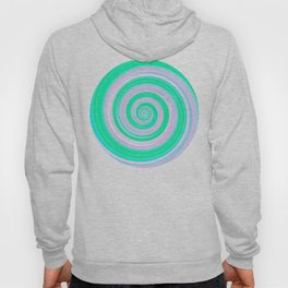 Re-Created Spin Painting (Spearmint) by Robert S. Lee Hoody