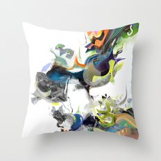 Sunburn Throw Pillow
