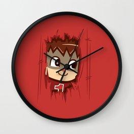 Heeeeere's..... the Villager! Wall Clock