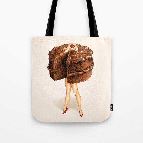 Cake Girl - Chocolate Tote Bag