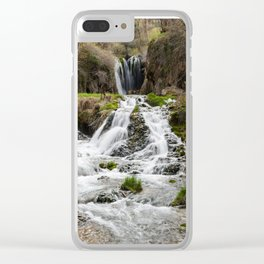 Roughlock Falls, Spearfish Canyon, South Dakota Clear iPhone Case