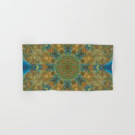 Autumn Skies Mandala Abstract Design Hand & Bath Towel