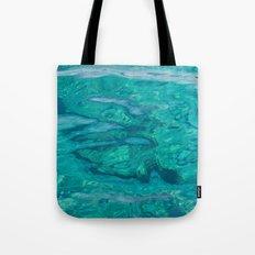 Mediterranean Water Tote Bag