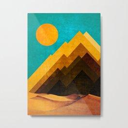 DESERT XOX Metal Print