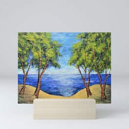 Summer In Michigan Mini Art Print