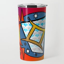 astrology,Gemini, Travel Mug