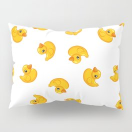 Rubber duck toy Pillow Sham