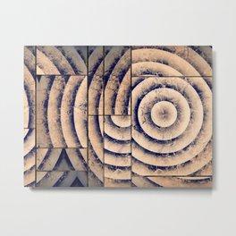 Geometrics Metal Print