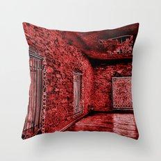 4thDOOR NEON Throw Pillow