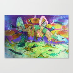 talktalktalktalk Canvas Print