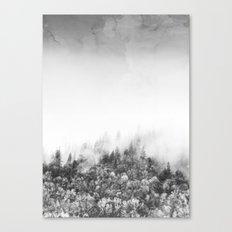 Monochromatic Landscape Canvas Print