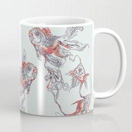 Floating in Deep Coffee Mug