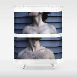 Diptych- Vulnerability Shower Curtain