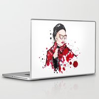 vogue Laptop & iPad Skins featuring VOGUE by CARLOS CASANOVA