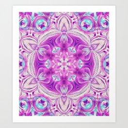 Flower Of Life Mandala (Sweet Soul) Art Print