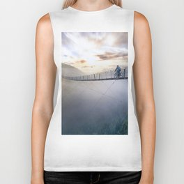 Life isn't always beautiful, but it's a beautiful ride Biker Tank