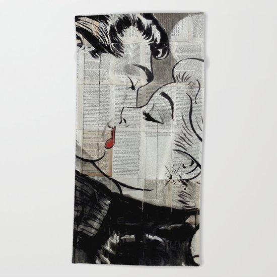 POP KISS Beach Towel